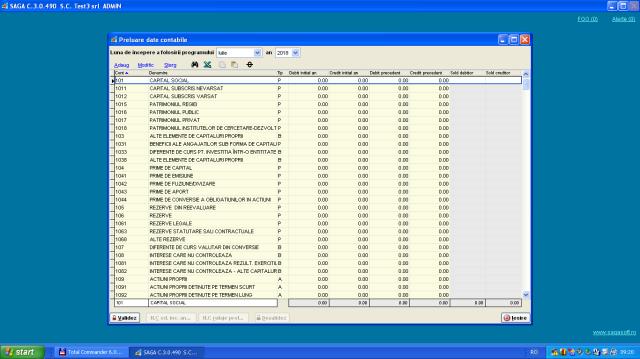 Preluare date contabile